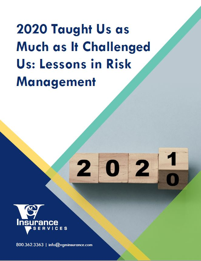 2020 Taught Us as Much as It Challenged Us: Lessons in Risk Management document image