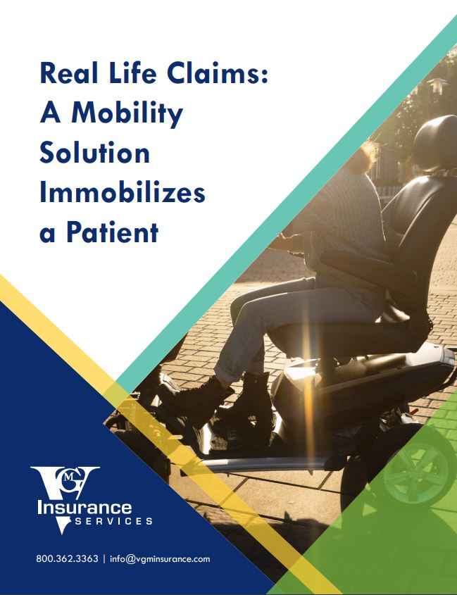 A Mobility Solution Immobilizes a Patient document image