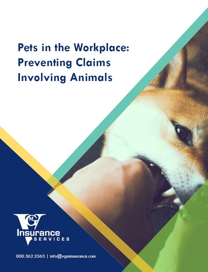 Pets in the Workplace: Preventing Claims Involving Animals document image