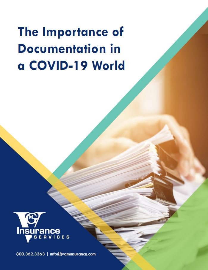 The Importance of Documentation in a COVID-19 World document image