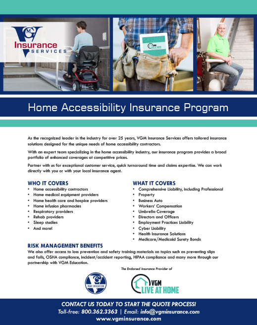 Home Accessibility Program document image