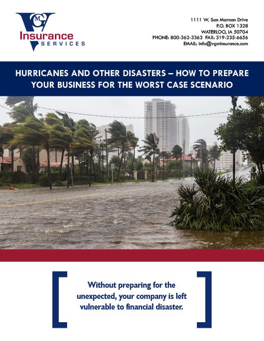 Hurricane and Disaster Preparedness document image