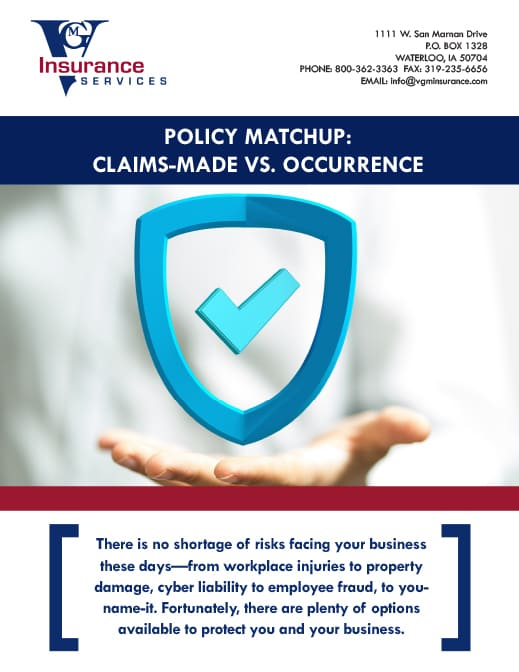 Claims Made vs. Occurrence [WHITE PAPER] document image