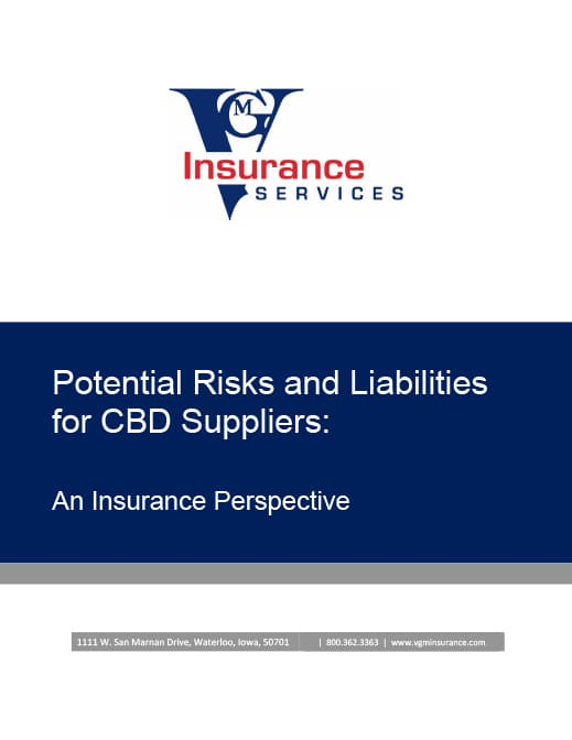 Potential Risks And Liabilities for CBD Suppliers [WHITE PAPER] document image