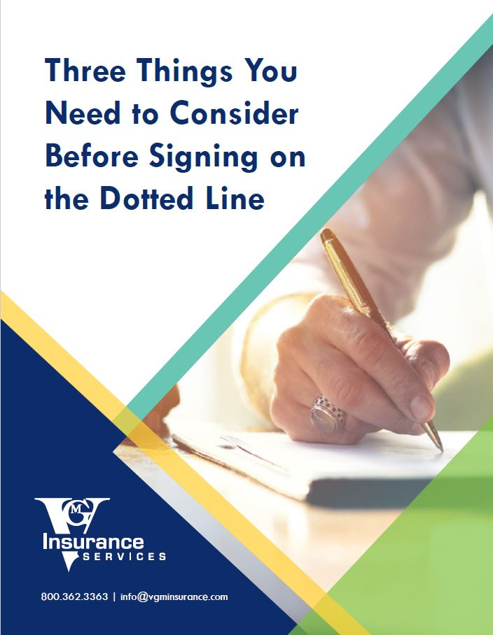Three Things You Need to Consider Before Signing on the Dotted Line document image