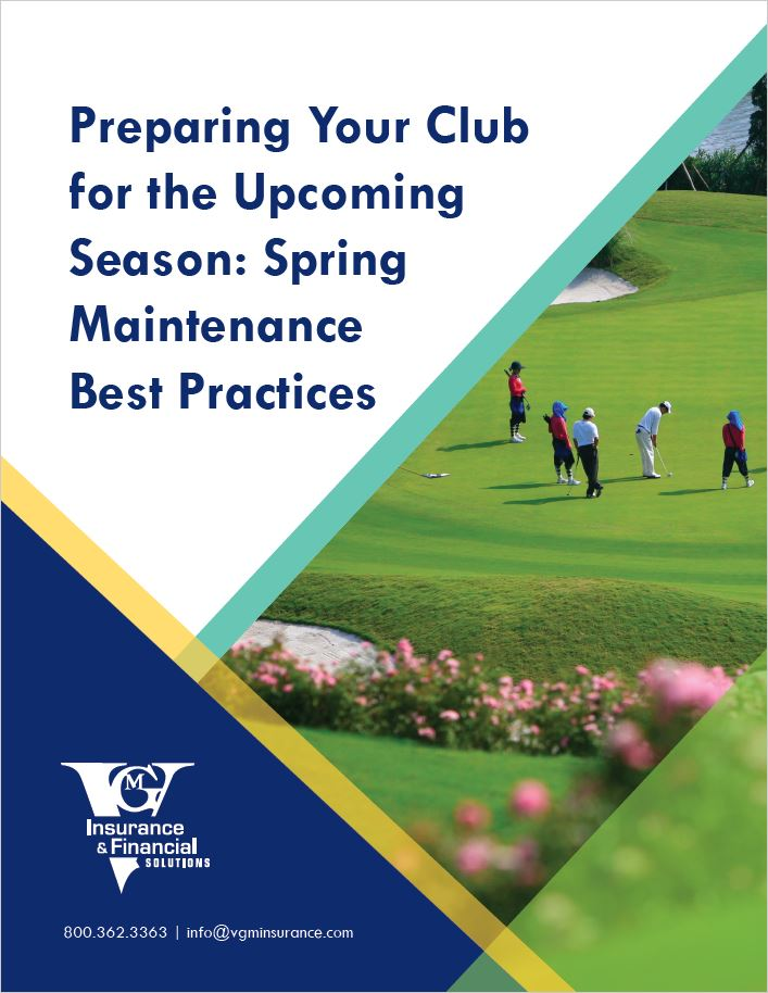 Preparing Your Club for the Upcoming Season: Spring Maintenance Best Practices document image