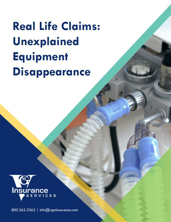 Unexplained Equipment Disappearance document image